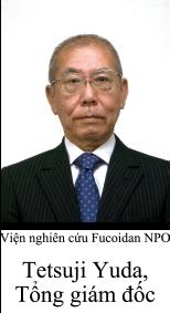 NPO Research Institute of Fucoidan  Tetsuji Yuda, President